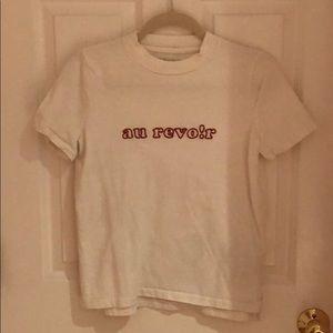 Madewell au revo!r t-shirt